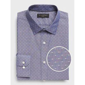 Banana Republic Slim-Fit Non-Iron Yarn-Dye Shirt